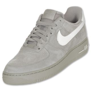 Mens Nike Air Force 1 Low Medium Grey/White