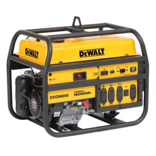 6000 Watt Commercial Generator w Honda Engine DXGN6000 New