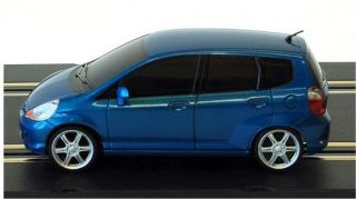 GSLOT HONDA JAZZ BLUE STREET 132 Slot Car. Brand new, in sealed