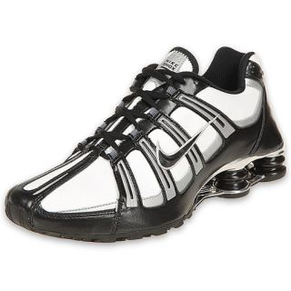 Nike Mens Shox Turbo SI Running Shoe White/Black