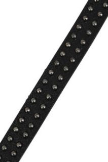 Burberry Accessories Studded leather bracelet   50% Off