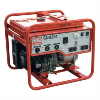 Recoil Start 3600 Watt Honda GX240 Portable Generator GA36HA