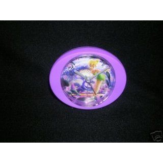 Disney Fairies Tinkerbell Purple Desk Alarm Clock Toys