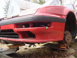 88 89 Honda Prelude SI 4WS Front Bumper Cover 707