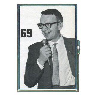69 Creepy Pervert Retro Dude ID Holder, Cigarette Case or