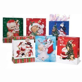 Extra Large Christmas Sharing Gift Bags 6ct Health