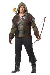 Robin Hood Outfit Plus Size Halloween Costume 01695