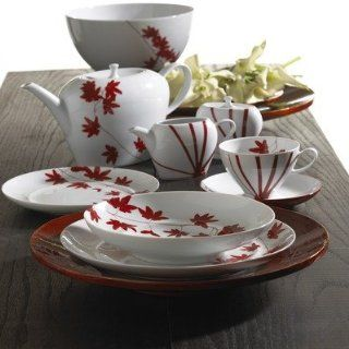 Mikasa Pure Red Series Pure Red Dinnerware Collection Pure