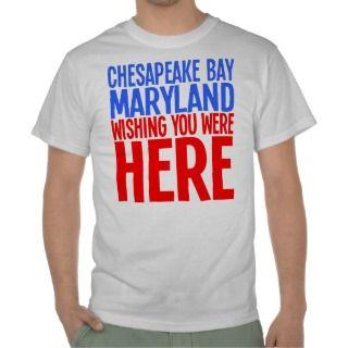 BLUE CRAB CHESAPEAKE BAY, MARYLAND TSHIRT