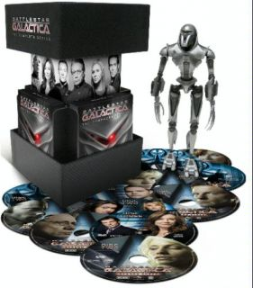 Battlestar Galactica The Complete Series DVD 2009 25 Disc Set Brand