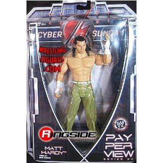 MATT HARDY   PAY PER VIEW 20 WWE TOY WRESTLING ACTION