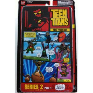 Teen Titans Series 2 Page 1 1.5 Comic Book Heroes Toys