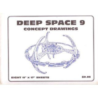 Star Trek Blueprints Deep Space Nine Concept Drawings Rick Sternbach