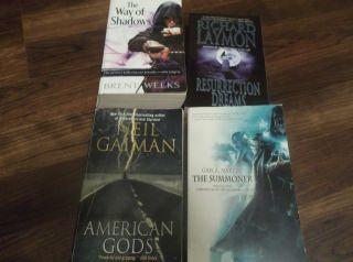 Horror Books Lot of 4 Paperbacks