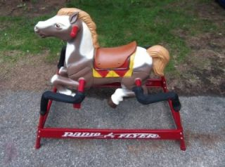 Radio Flyer Champion Spring Riding Horse