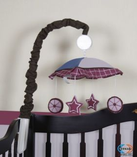 Musical Mobile for Horse Cowgirl Girl Bedding Set