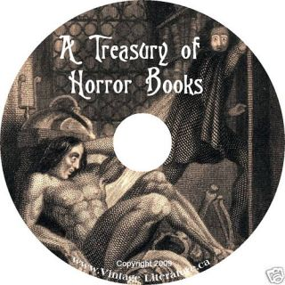 Horror Story Collection  Audio Books on CD ♥ • ¨¨ • Vintage