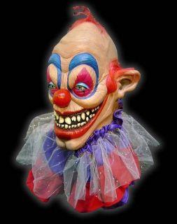 Killer Clown Latex Mask Halloween Horror Prop