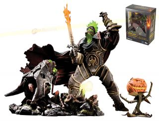 of Warcraft Series 4 Premium Headless Horseman Figure New WOW