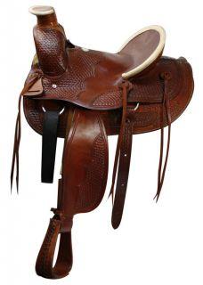 Old Timer Wade A Fork Ranch Saddle w/ Hard Seat NEW Horse Tack Saddle