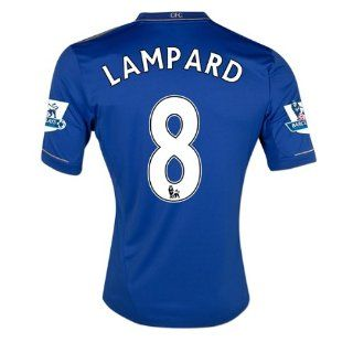 CHELSEA HOME LAMPARD #8 JERSEY EPL SOCCER JERSEY 2012 13 S