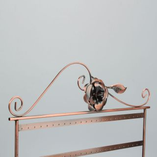 Hot Selling T 003B Earring Jewelry Display Stand Rack Holder Bronze