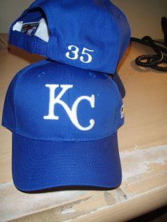 Eric Hosmer Personalized 35 Kansas City Royals Blue Team MLB Hat New