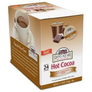 24 Grove Square Hot Cocoa Cups Milk Chocolate Single Serve Cup for