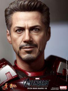 Hot Toys The Avengers 2012 Ironman Mark VII Tony Stark Battle Damage