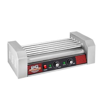 Commercial 12 Hot Dog Dawg Machine Warmer Grill Rotisserie Roller