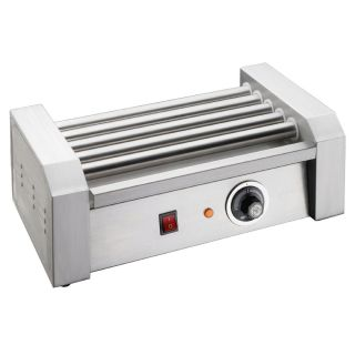 Great Northern Popcorn Commercial 8 Hot Dog 5 Roller Grilling Machine