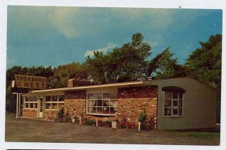 Houghton Lake MI Treasure Chest Gift Shop Postcard