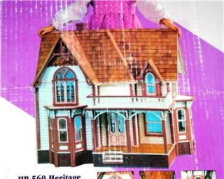 Dura Craft Doll House Kit Heritage Mansion   Victorian Gothic Model HR