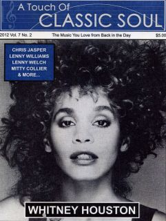 Classic Soul Newspaper Whitney Houston Lenny Williams