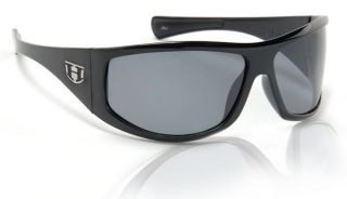 HOVEN LAW BLACK GLOSS / GREY SUNGLASSES HOT RAT ROD ROCKABILLY SKATE