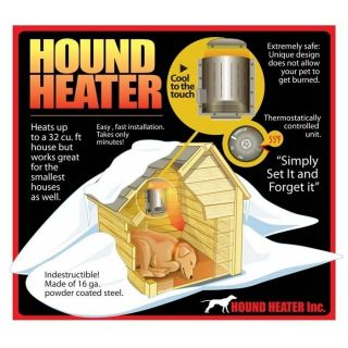 Akoma Pet Dog Cat Hound House Heater Furnace