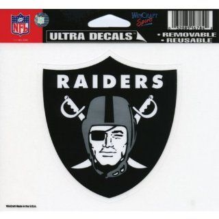 Oakland Raiders   Logo Decal    Automotive