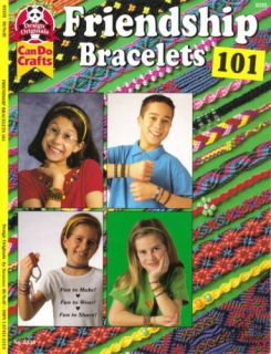 How to Make Friendship Bracelets Kids Craft Book Knots Childrens