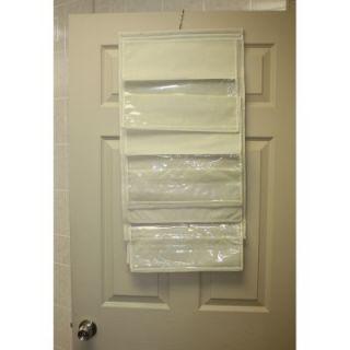 Home Basics Hanging Handbag Purse Organizer Space Saver Storage 6 Bags