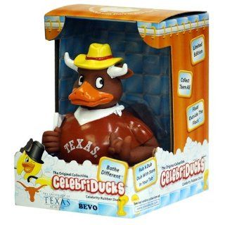 Texas Longhorns Bevo Rubber Duck Toys & Games