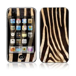Zebra Print Design Skin Decal Sticker for Apple iPod Touch