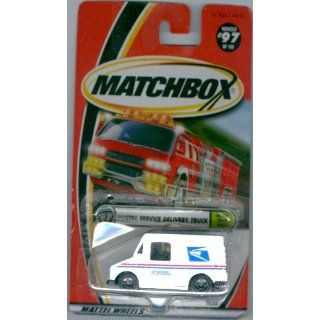 Matchbox 2000 97 Postal Service Delivery Truck On The Road