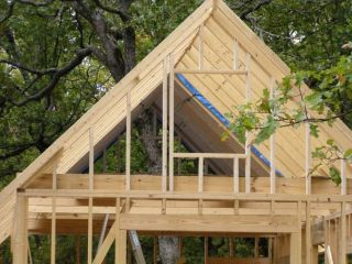 Plans How To Build Your Own Cabin Storage Shed House Frame Gable