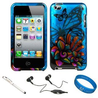 (Wildflower Butterfly) Durable 2 Piece Crystal Hard Case