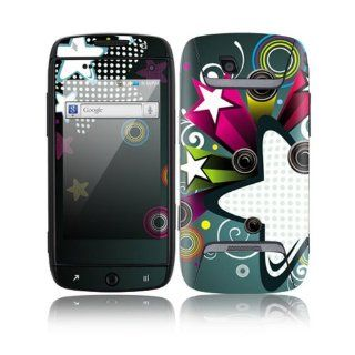 Retro Stars Decorative Skin Cover Decal Sticker for