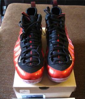 Nike Air Foamposite One 1 Metallic Red Sz 15 Galaxy Jordan Kobe Lebron
