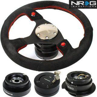 91 96 Toyota Land Cruiser NRG 320MM Steering Wheel + Hub + Quick