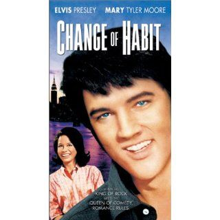 Change of Habit [VHS] Elvis Presley, Mary Tyler Moore