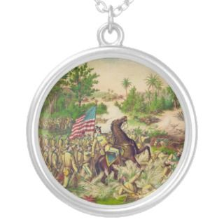 Philippine American War Battle of Quingua 1899 Personalized Necklace