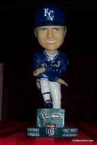Dick Howser Kansas City Royals Baseball SGA Bobblehead Stadium